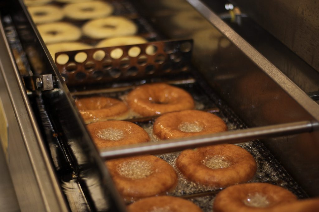 Donuts on Conveyor